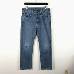 Banana Republic Size 34x32 Straight Leg Jeans
